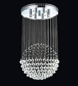 Floating crystal ball chandelier ceiling lighting germany floating crystal ball chandelier aloadofball Gallery