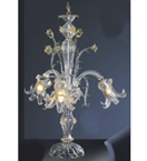 Hand Made Murano Style Table Lamp