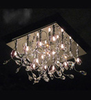 12 Light Ornate Crystal Chandelier