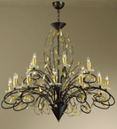 Mastery Design Chandelier That has A Custom Made Design
